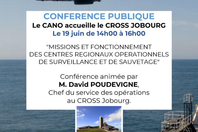 Affiche Conférence CROSS Jobourg